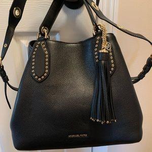 Michael Kors Leather Brooklyn Bag